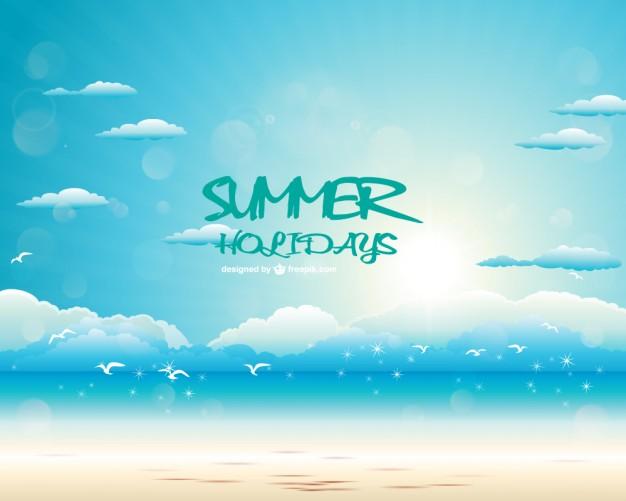 14 Free Summer Vector Art Images