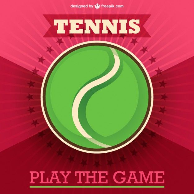 Free Vector Tennis Ball
