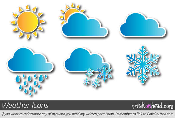 12 Free Weather Icons Download Images