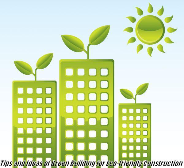 Green Eco-Friendly Building