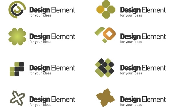 11 Tropical Logo Design Elements Free Images