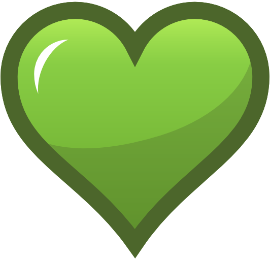 Greenheart Clip Art