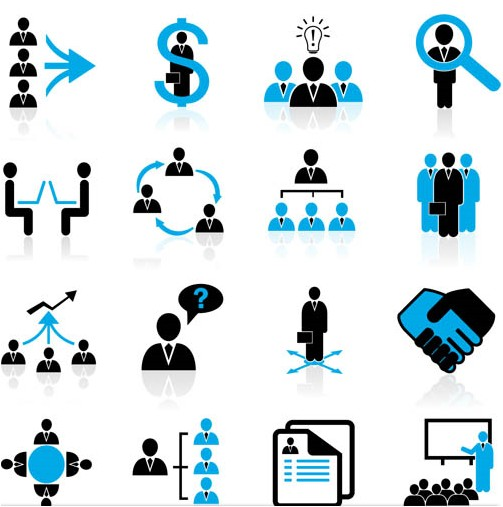 Human Resources Icons Free