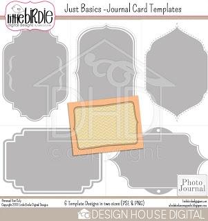 Journal Card Templates