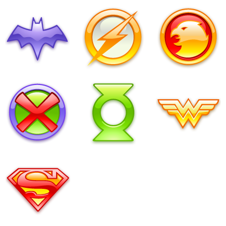 15 Justice League Icon Images