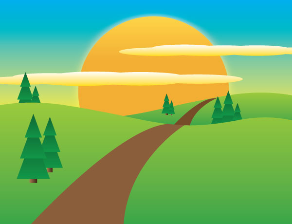 Landscape Illustrations Vector Graphics