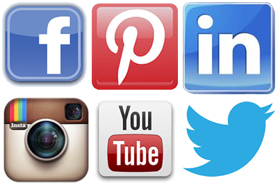 16 Social Media Icons Large Images