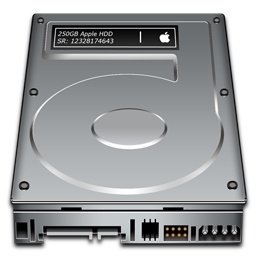 15 Hard Drive Mac Icons Images