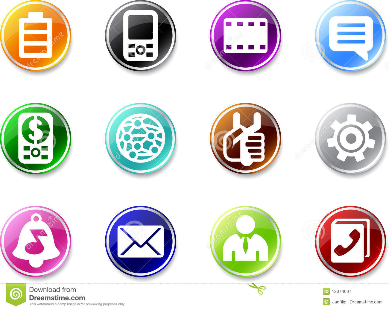 10 Cell Phone Icon Small Images