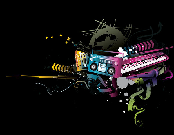 Music Vector Clip Art