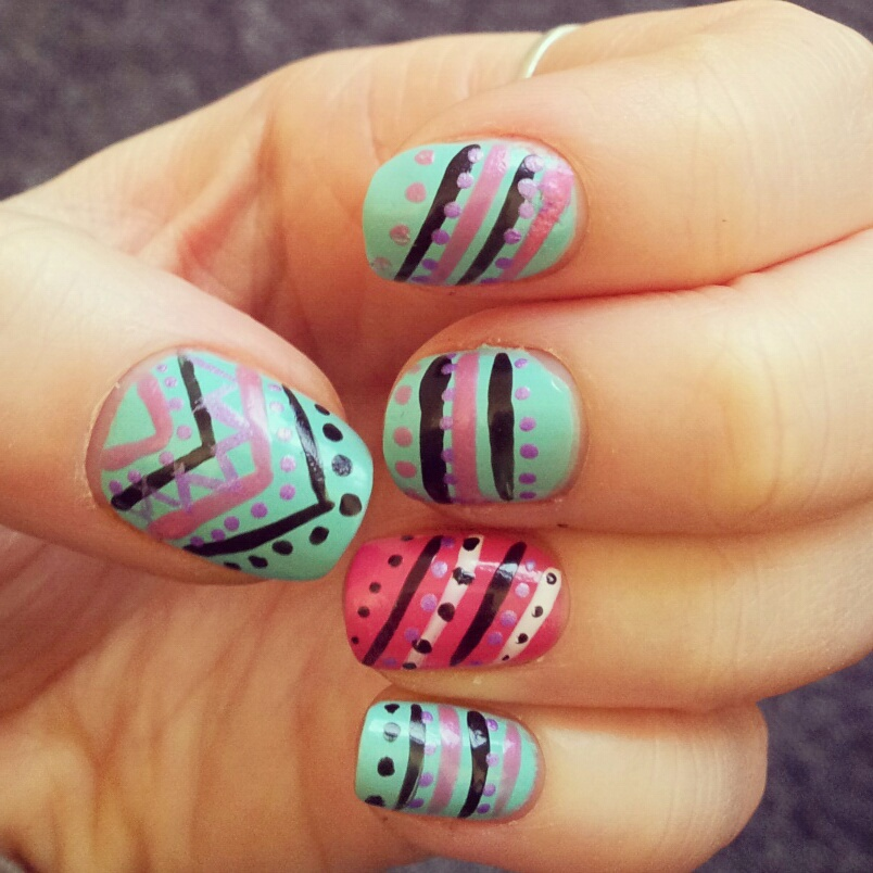 7 Pinterest Nail Art Designs Images