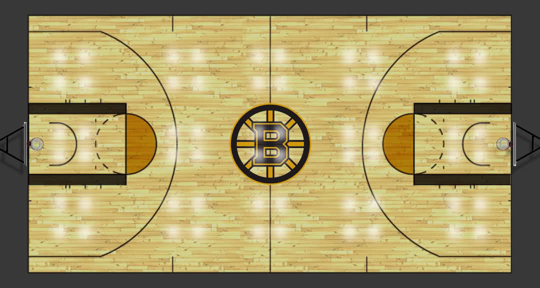 12 Basketball Court PSD Images