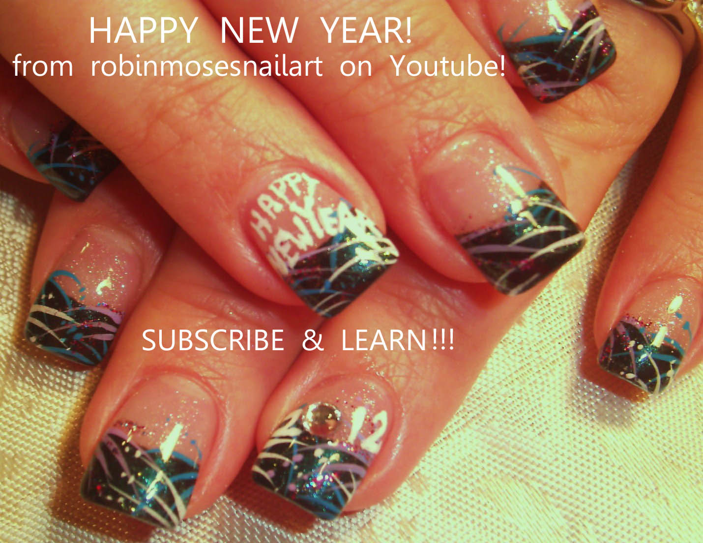 9 New Year's Nail Designs Images
