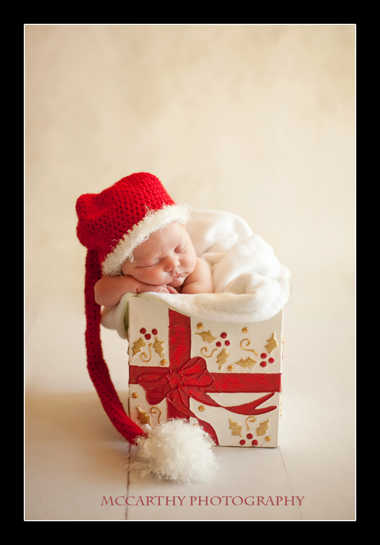 Newborn Baby Christmas Card Ideas