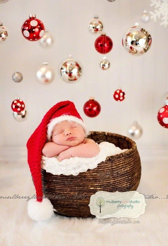 Newborn Baby Christmas Ideas