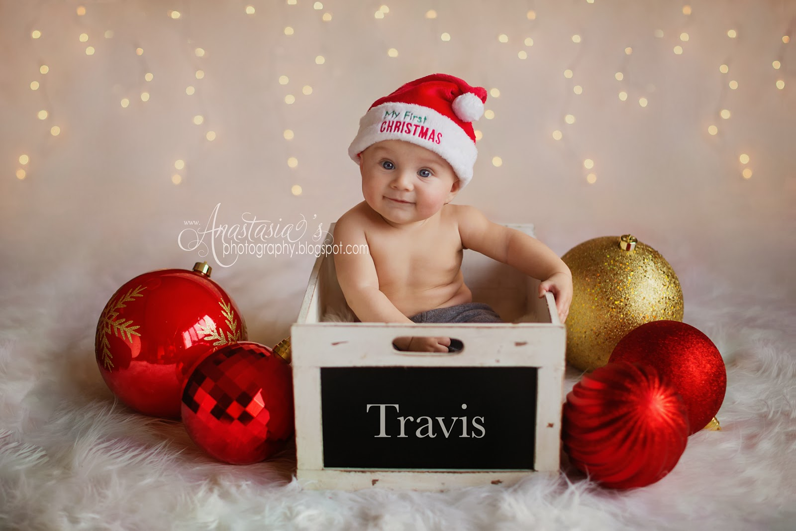Newborn Christmas Photography Babies