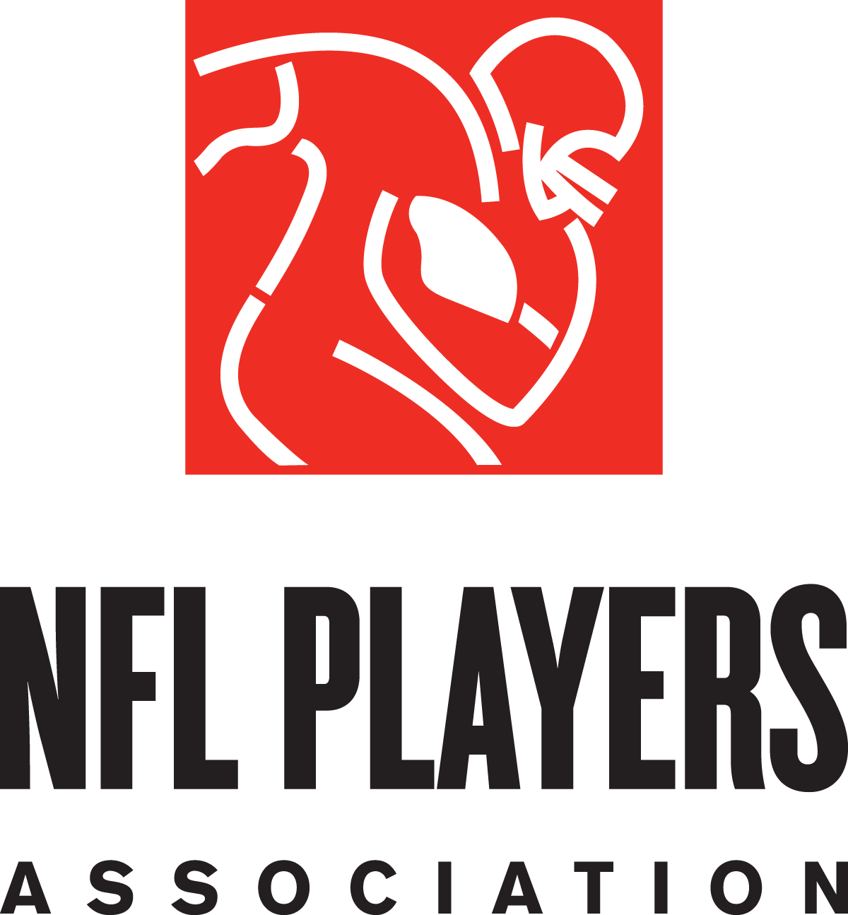 NFL Football Player Logo