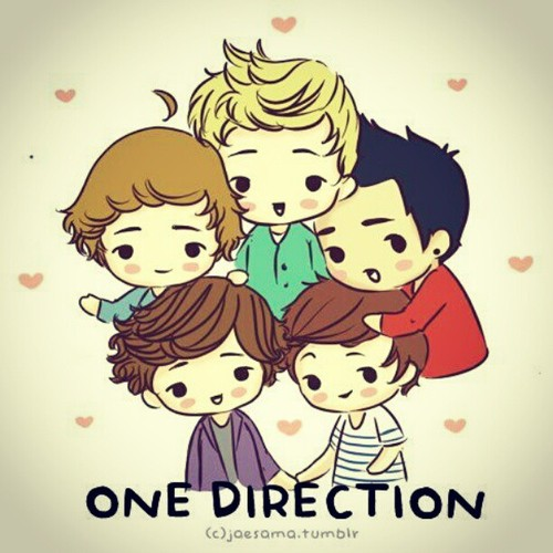 One Direction as Cartoons