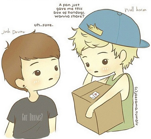 One Direction Cartoon Drawing Tumblr