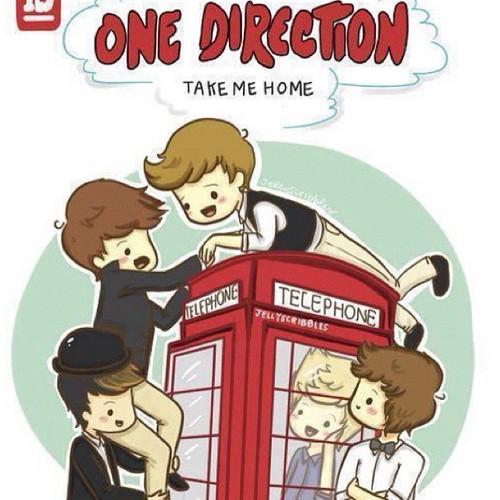 One Direction Take Me Home Cartoon