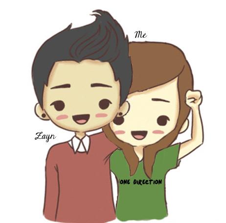One Direction Zayn Malik Cartoon