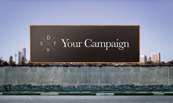 Outdoor Billboard Mockup Psd Free