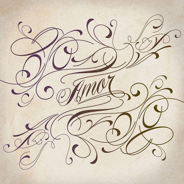 Piel Script Tattoo Lettering Design