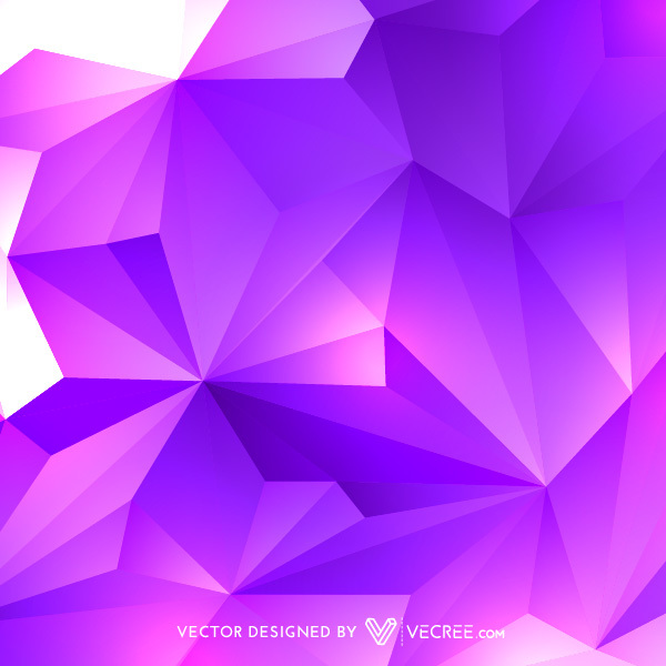 Pink and Purple Abstract Vector