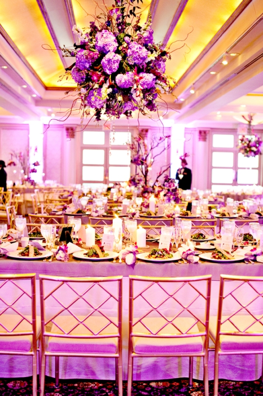 Pink and Purple Wedding Decoration Ideas