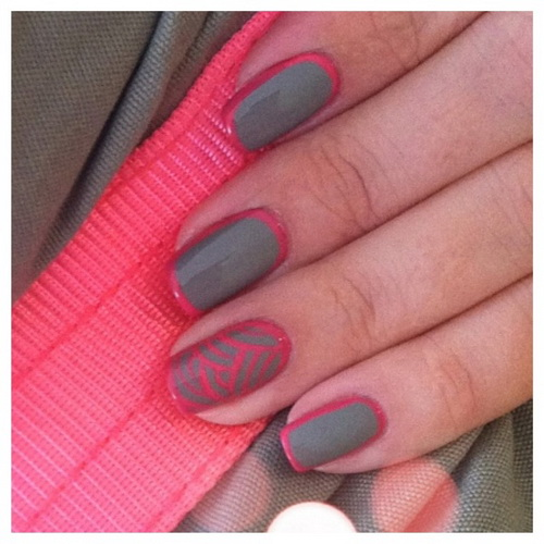Pink Nail Designs Pinterest
