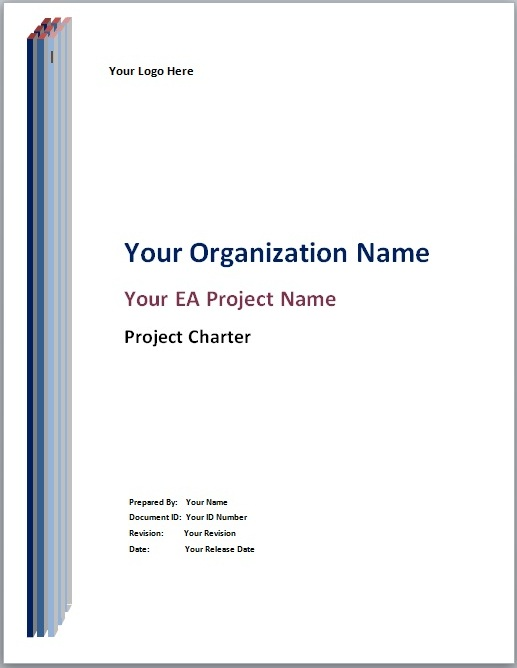 Proposal Cover Page Template
