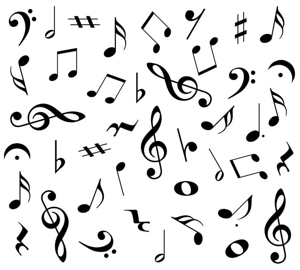 Random Music Symbols
