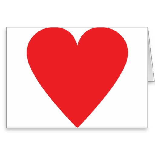 Red Heart Icon for Facebook