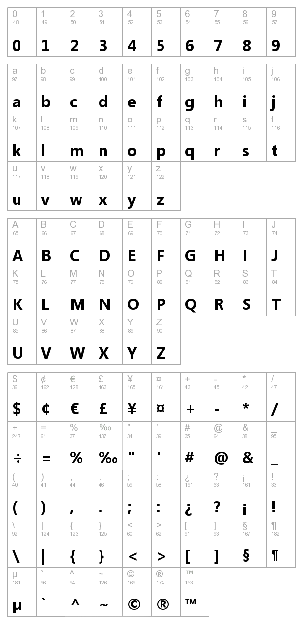 11 Segoe Font Family Images
