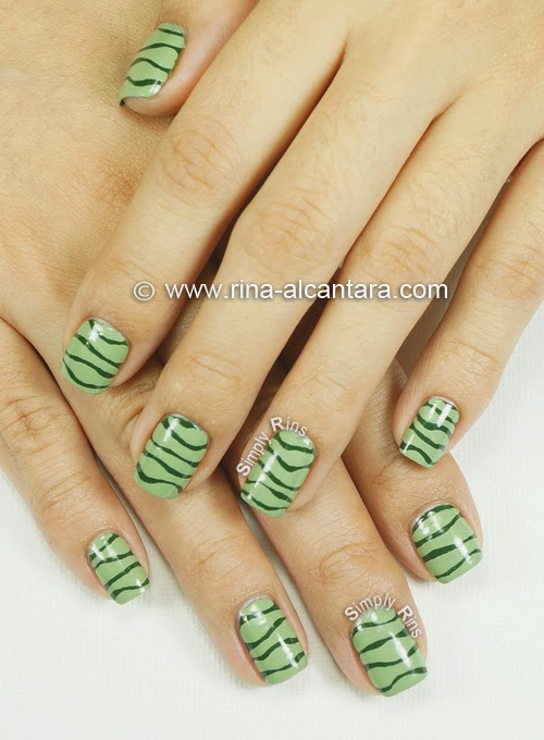Simple Line Nail Art Designs : Line nail art designs images with lines