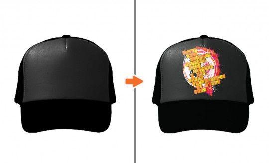 Trucker Hat Mockup PSD