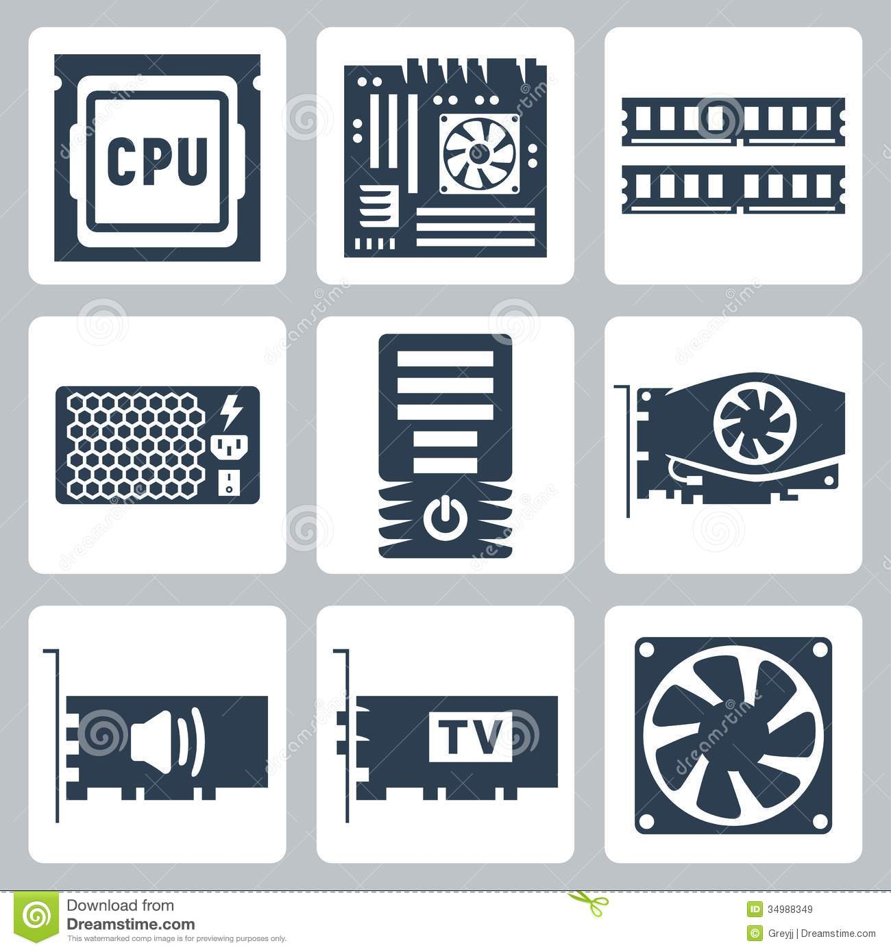 13 Hardware Management Icon Images