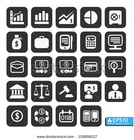 Vector Icons Business Finance