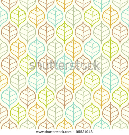Vector Leaves Pattern