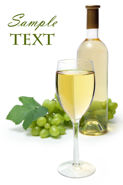 14 PSD White Wine Images