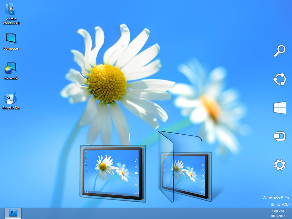 Windows 8 Add Desktop Icons