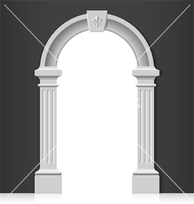 10 Vector Arch Door Images