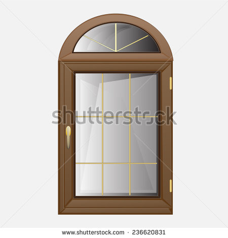 Arched Window Clip Art