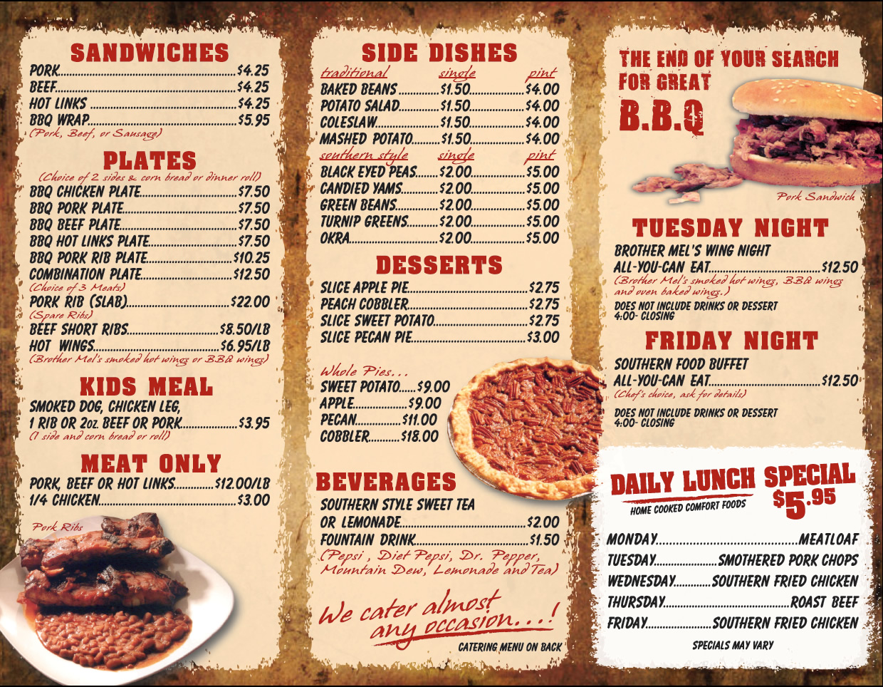 templates for restaurant menus - 14 design your own restaurant menu images create your