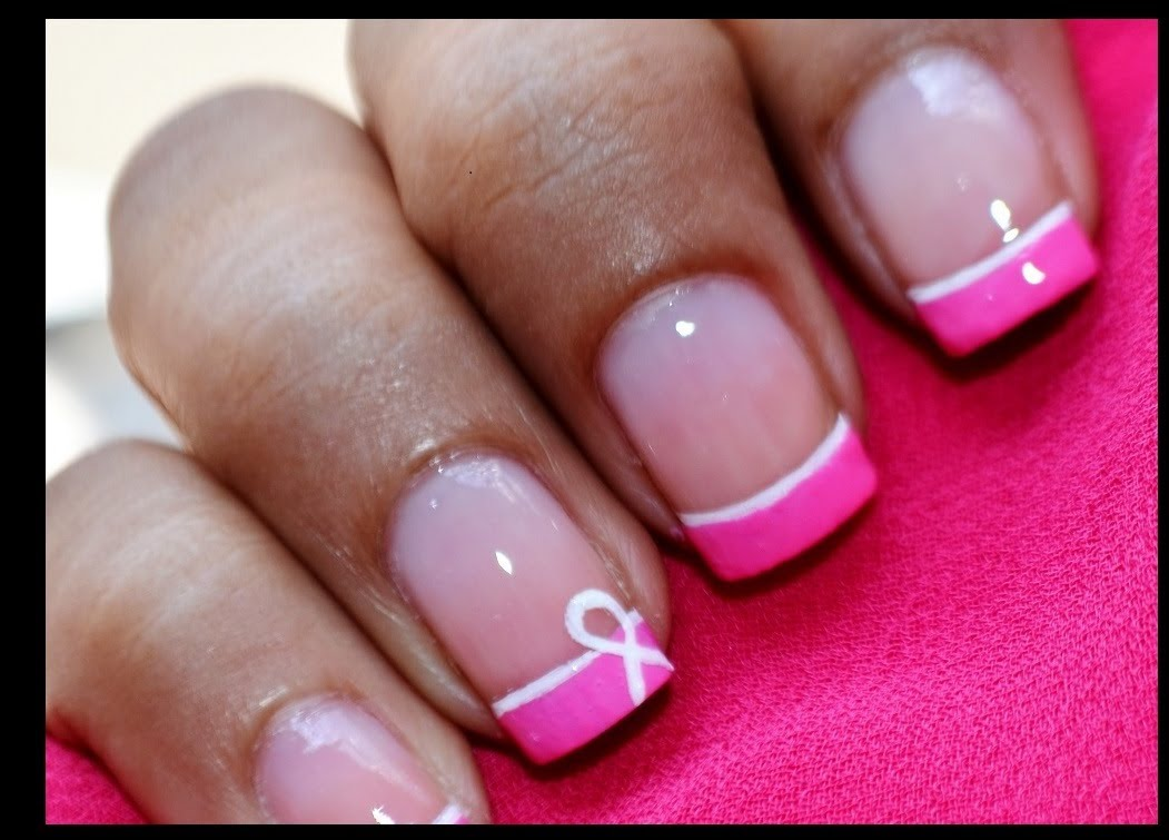 7 Cancer Nail Art Designs Images