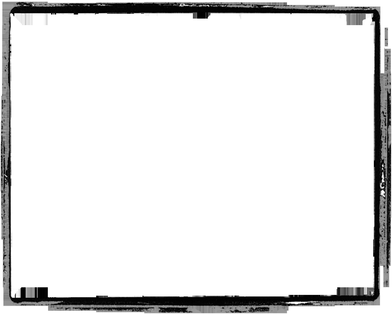 Black Grunge Border Photoshop