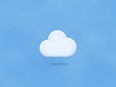 14 Blue Cloud Brand Icon On The Game Images