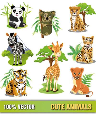Cartoon Animals Clip Art