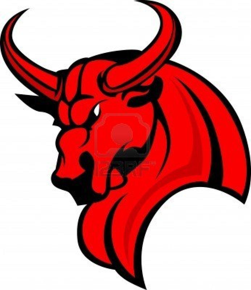 12 Vector Cartoon Bull Images