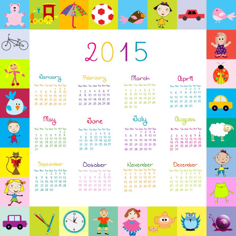 Cartoon Calendar 2015